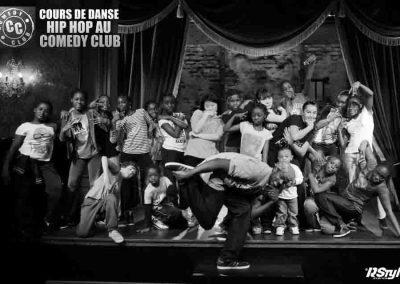 Cours de danse au comédie Club