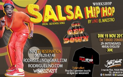 "SALSA HIP HOP WORKSHOP ""The Get Down"""