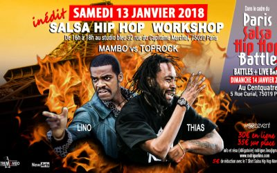 "STAGE SALSA HIP HOP ""Mambo vs Toprock"" 13/01/18"