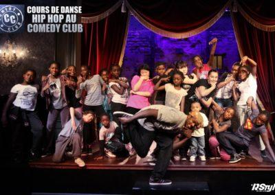 cours de hip hop au comedy club