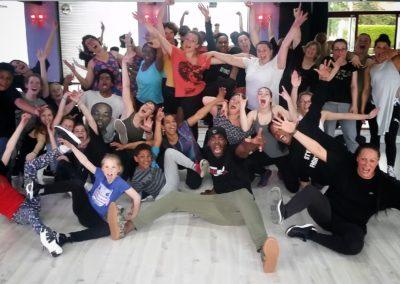 stage salsa hip hop au urban studio à saint lô